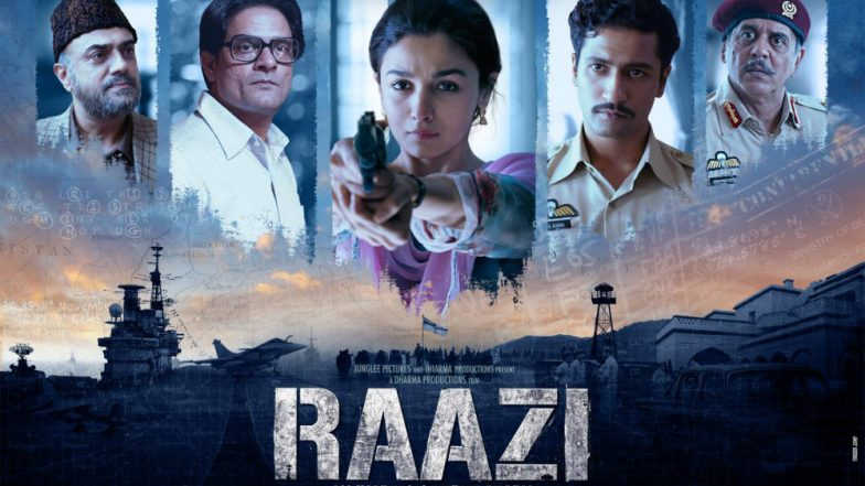 Raazi Official Trailer