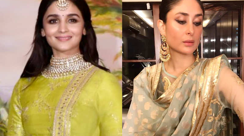 What Did The Celebrities Wear on This Eid 2018? Alia to Kareena Khan