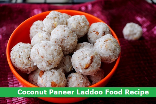 Coconut Paneer Laddoo