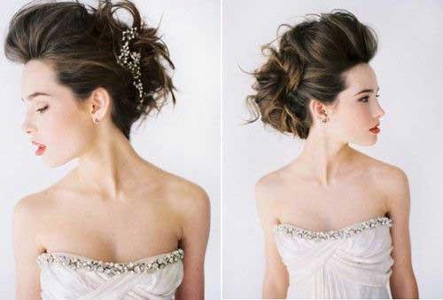 podignuta kosa