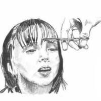 Šiške - Kako podeliti šiške, šišanje ravnih šiški, šiške na stranu