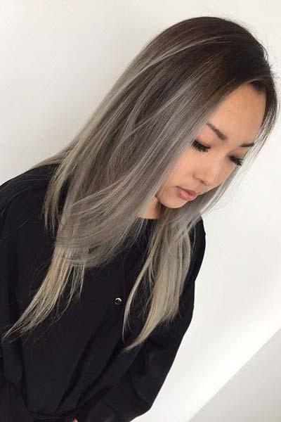 pepeljasta balejaž kosa