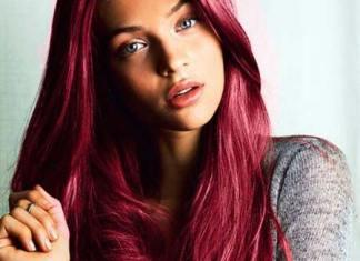 violet boja kose