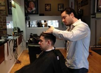muški frizer