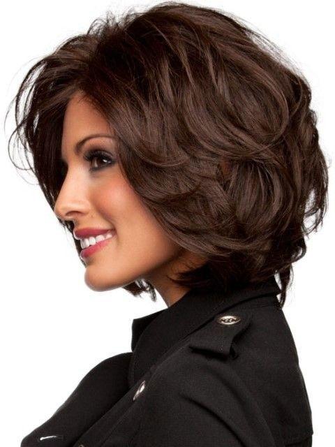 stepenasta kratka frizura