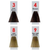 10 Osnovnih tonova nivoa svetloće kose