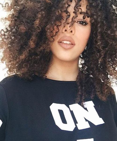 afro frizura
