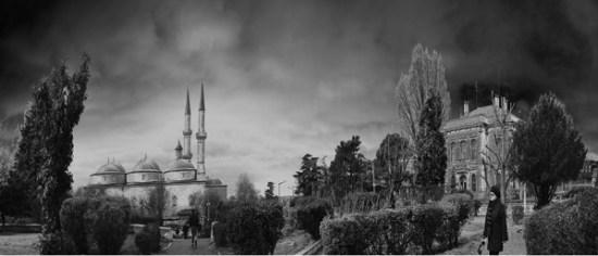 16 - Selimiye Parkı Eski Cami ve Belediye Binası