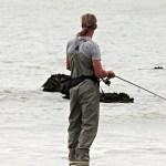 fishing, man