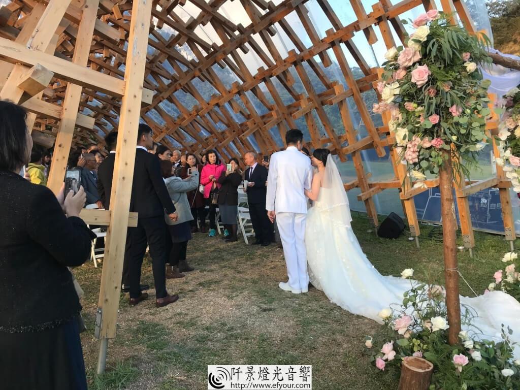 證婚儀式音響出租 -阡景