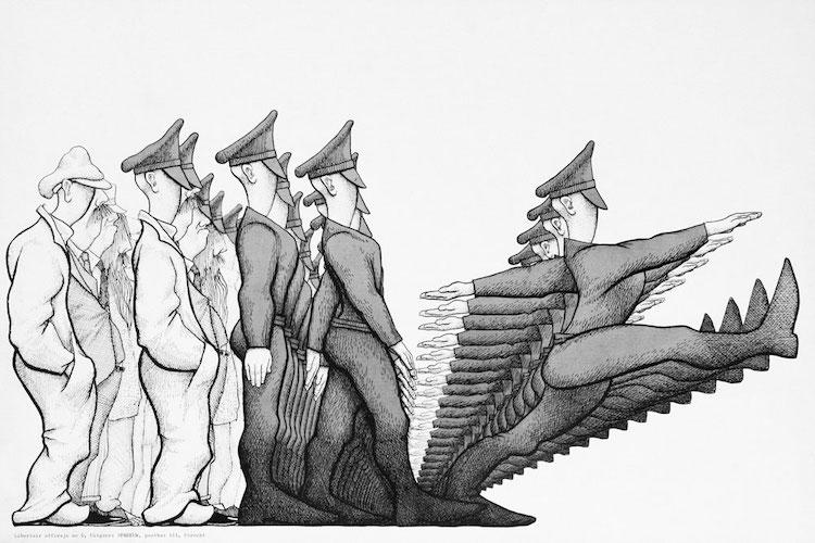 La transformation des sociétés à l'occasion du Covid-19 annonce la militarisation de l'Europe
