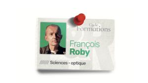 Inscrivez-vous aux cours de François Roby en visioconférence