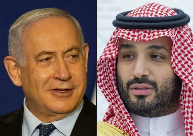 Benyamin Netanyahou a rencontré Mohammed ben Salmane en Arabie saoudite