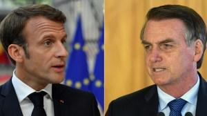 """Bolsonaro : """"Arrêtez de dire des idioties sur le Brésil, Macron, vous ne connaissez pas votre pays"""""""