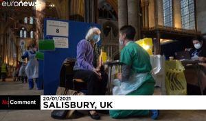 Profanation satanique : la cathédrale de Salisbury transformée en centre de vaccination