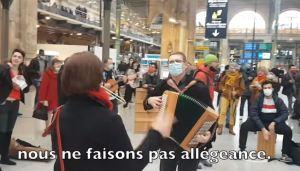 Continuer à danser encore : le flashmob de la gare du Nord