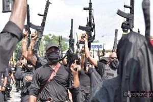 USA : milices noires contre milices blanches