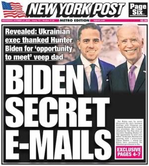 Facebook et Twitter censurent un article défavorable à Joe Biden