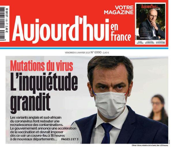 Les étrangleurs pour le pouvoir profond Castex & Véran resserrent le cou du peuple français