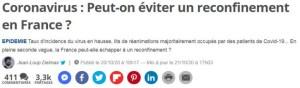 Entre électrochoc terroriste et reconfinement sadique, la France est un HP à ciel ouvert