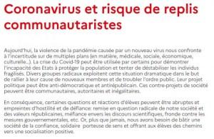 Nicolas Dupont-Aignan dénonce la fiche Éduscol qui appelle à fliquer les enfants