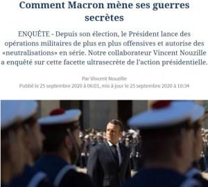 """Les opérations """"homo"""" du président Macron"""