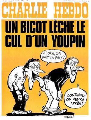 """Message de Charlie Hebdo, de la Kommandantur : """"Sur VK, les réfugiés d'extrême droite se lâchent"""""""
