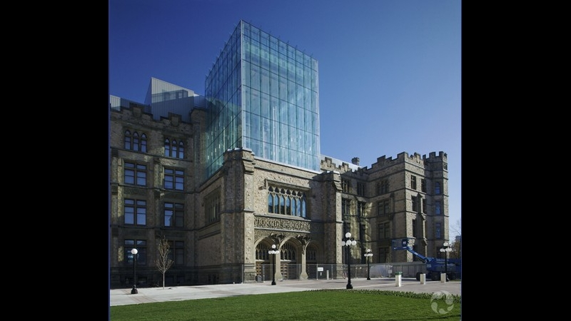 Canadian Museum of Nature Ottawa Ontario - EGD Glass Restoration