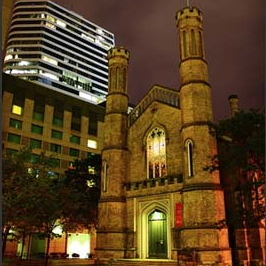 Church of the Holy Trinity in Toronto, Ontario