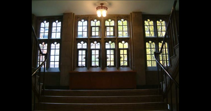 Emmanuel College Victoria University Toronto Ontario - EGD Glass restored heritage windows