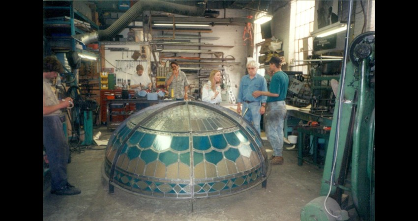 Private-residence-oakville-stained-glass-dome-04