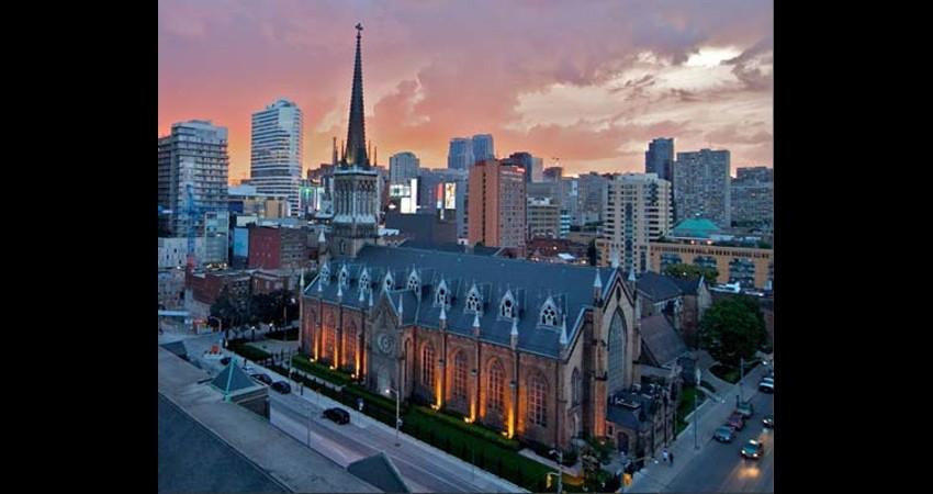 St. Michael's Cathedral Toronto Ontario EGD Glass Restoration