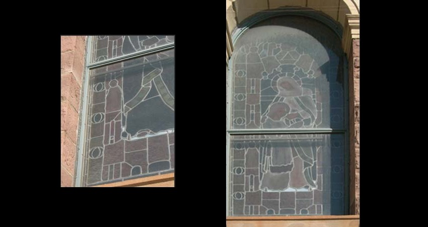St. Paul's Basilica Toronto Ontario EGD Glass Restoration Stained Glass Exterior Glazing
