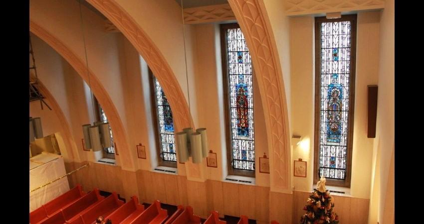 St. Michael's Hospital Toronto EGD Glass Restoration Project 4