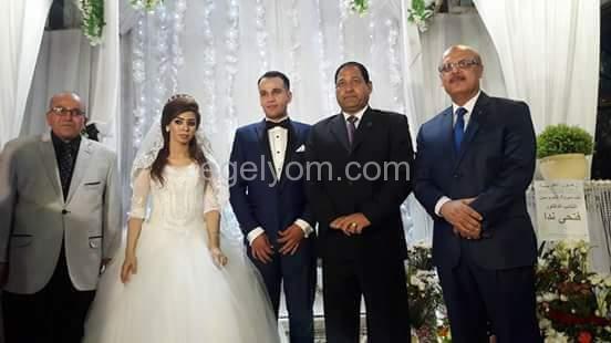 تهنئه للنقيب ياسر هجرس بمناسبة الزفاف السعيد  