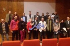 """بالصور الفيلم اللبناني"""" ميل يا غزيل"""" بنادي سينما الإسماعيلية..  """