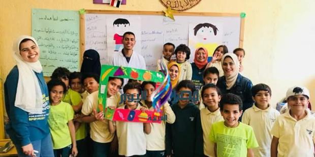 الاتحاد المصري لطلاب الصيدله بجامعه مصر للعلوم والتكنولوجيا يطلق فعاليات (علم ولا تعلم )  