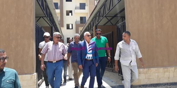 محافظ بورسعيد يعلن الانتهاء من كافة الأعمال الإنشائية وتوصيل المرافق بمشروع ال ٣٥٢ منزل وحظيرة |