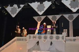 محافظ الفيوم يحضر العرض المسرحي طقوس الإشارات بقصر ثقافة الفيوم |