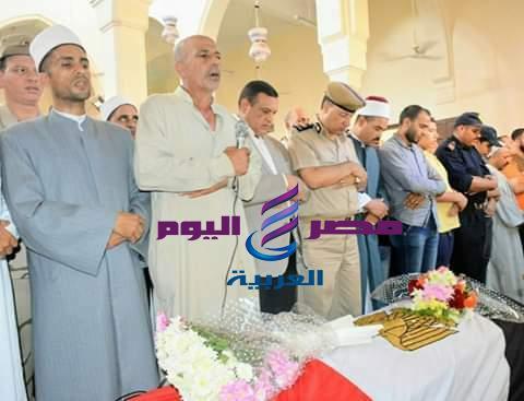 جنازة عسكرية لشهيد الواجب الوطني إبن مدينة الرحمانية. |