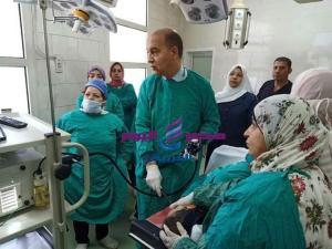 افتتاح وحدة مناظير الجهاز الهضمي وعيادة جهاز هضمي وكبد بمستشفى أسيوط العام |