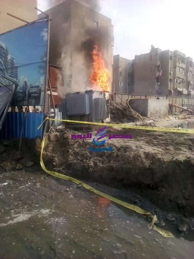 حريق بمنطقة ٦ اكتوبر |