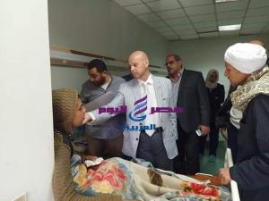 محافظ الشرقية يكلف وكيل وزارة الصحة والتربية والتعليم للاطمئنان علي أحد الطلاب بمستشفي بالأحرار |