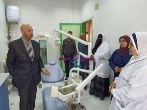 مرور مفاجئ لوكيل وزارة الصحة بالشرقية علي وحدة طب الأسرة بالمحافظة