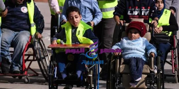 اليوم العالمي ل ذوي الاحتياجات الخاصة تولد العزيمة لديهم |