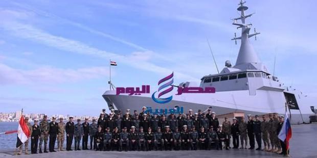 بدء التدريب البحرى المصرى الروسى المشترك جسر الصداقة ۲۰۱۹ |