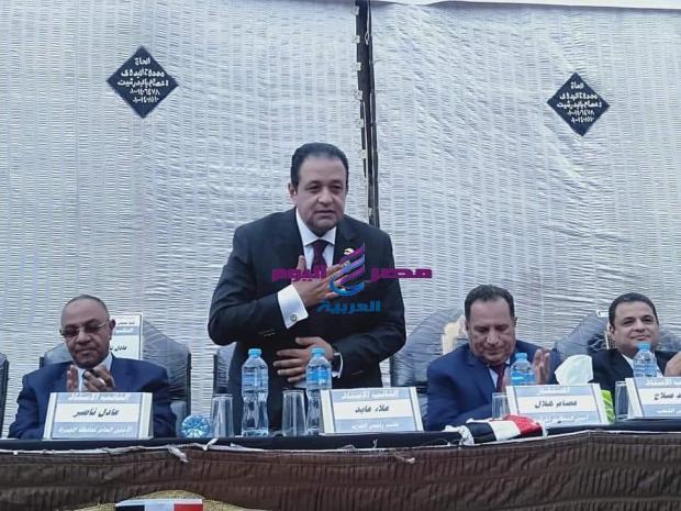رئيس لجنة حقوق الإنسان يكريم رموز العلم والمتفوقين بالجيزه |