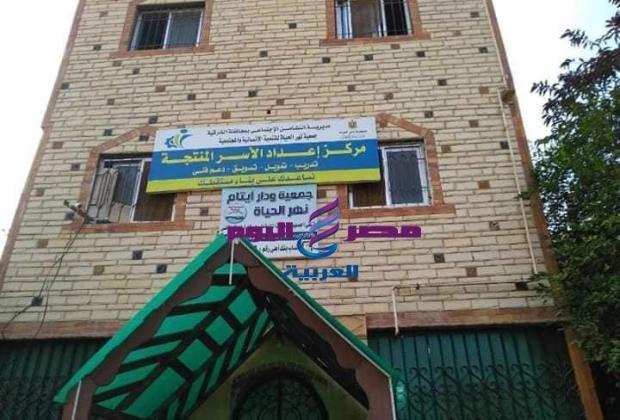 محافظ الشرقية يُفاجئ دار نهر الحياه لرعاية الايتام بالعاشر من رمضان  