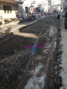 رفع 20 طن أتربة ومخلفات في حملة نظافة بالمنشأه في سوهاج