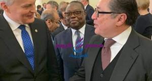 سفير مصر غير المقيم لدى ليتوانيا يلتقى رئيس جمهورية ليتوانيا - سفير مصر